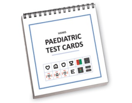HANKS PAEDIATRIC TEST CARDS